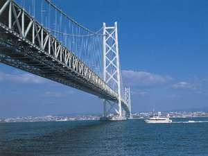 ホテルニュータカハマ:明石海峡大橋(舞子駅前)まで車15分