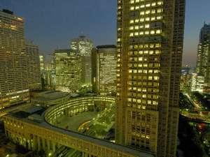 東京都庁側の客室からは、新宿新都心ならではの景色が広がります。