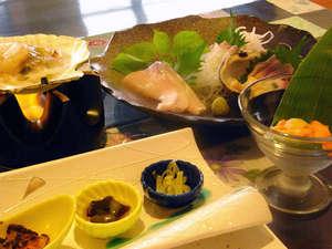 ホテル雲丹御殿:*食材はもちろん、全て天然・完全無添加!自然の味をお楽しみ下さい。
