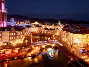 """ホテルヨーロッパ 【ハウステンボス ザ・スリーホテルズ】:夜景日本一""""光の街"""""""