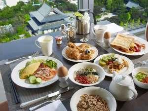 ザ・プリンス パークタワー東京:33階 スカイバンケット 朝食ブッフェ
