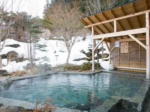 つなぎ温泉 湯守 ホテル大観:「簾下りの湯」 ※雪見の湯