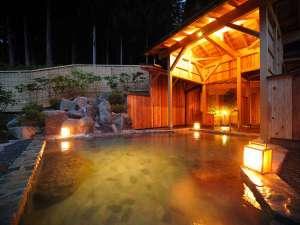 つなぎ温泉 湯守 ホテル大観:「薬師の湯」※夜のイメージ