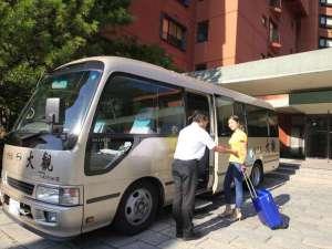 【送迎バス】当館⇔盛岡駅をシャトル運行しております。 ※事前予約が必要です