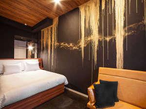 SAKURA TERRACE THE GALLERY(サクラテラスザギャラリー):【South/デラックスダブル】23平米/160㎝幅ベッド1台/バルコニー付/カラーはお部屋によって異なります