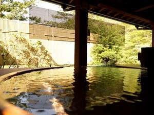 【いちの湯】露天風呂