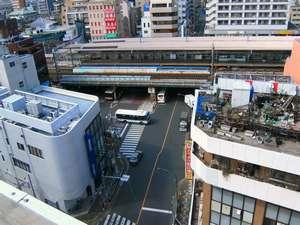 綾瀬国際ホテル:★屋上~西口を撮影してみました。ホームからホテル建物まで近いのがお分かりいただけると思います。