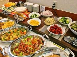 綾瀬国際ホテル:朝食ブッフェ1