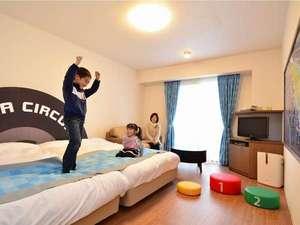 鈴鹿サーキットホテル(旧鈴鹿サーキットフラワーガーデンホテル):【イースト館ファミリールーム】