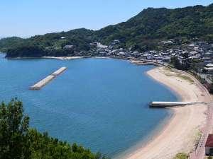 チェレステ小豆島:チェレスより徒歩5分で鹿島ビーチへ♪