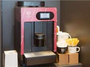 ザ ロイヤルパーク キャンバス 名古屋(2018年4月1日リブランド):CANVAS LOUNGE(ご宿泊のお客様には自由にご利用いただけるコーヒーをご用意しています)