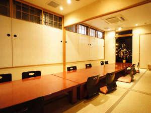 ちのステーションホテル:お食事処で★各種定食から宴会までご利用できます