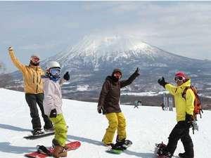 ニセコ昆布温泉 ホテル甘露の森:羊蹄山を間近に感じられるスキー場