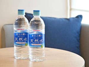 三井ガーデンホテル広島:ミネラルウォーター おひとり様1本サービス