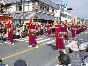 北郷 音色香の季 合歓のはな:日南市の秋のイベント恒例の「飫肥城下まつり」10/14,15開催で今年は記念すべき40周年を迎えました。