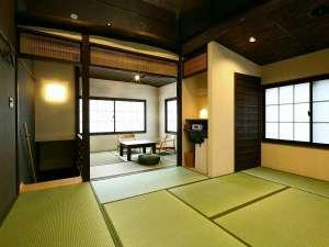 京都駅前町家・嘉右衛門:和室全景