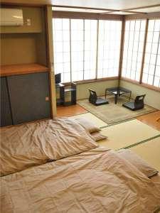 宿泊交流体験施設「浄土の館」:宿泊室1・和室(3名様までご利用可能)