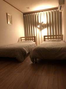 宿泊交流体験施設「浄土の館」:宿泊室3・洋室(通常はツイン仕様)