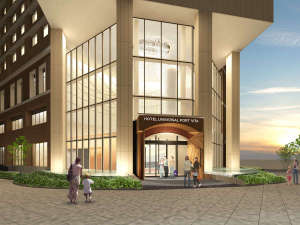 ホテルユニバーサルポートヴィータ[2018年7月15日開業予定]:エントランス(イメージ)