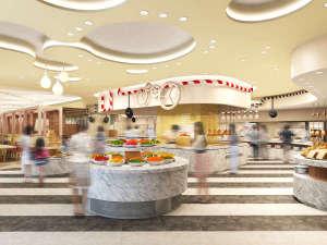 ホテルユニバーサルポートヴィータ[2018年7月15日開業予定]:レストランブッフェカウンター(イメージ)