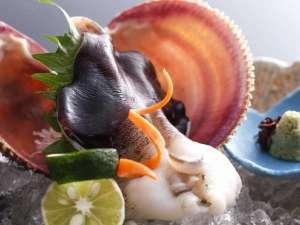 料理旅館 鳥喜:【夏】ブランド食材「丹後とり貝」