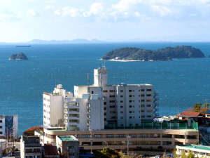 海と空と風の宿 ホテル明山荘の写真