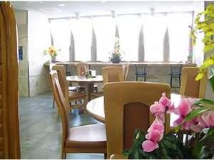 スカイホテル大田:フリースペース(朝食スペース)