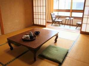 澤の湯:【和室】昔ながらの小さな温泉旅館です。派手な装いではありません。気兼ねなくおくつろぎください。