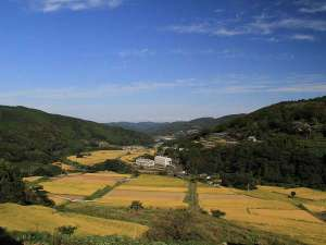 天空の宿 山暖簾:周辺風景(秋)
