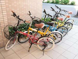 スーパーホテル鳥取駅前:観光や近隣散策に便利なレンタサイクルで是非お出かけください♪先着5台!