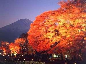 富士山と湖を望む高台の宿 クレッシェンド
