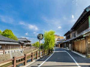 『小江戸』として有名な町・佐原は江戸後期から明治前期にかけて最も発展しました