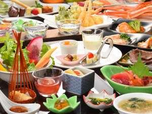 仙台 秋保温泉 ホテル瑞鳳(ずいほう):バイキング料理(一例)