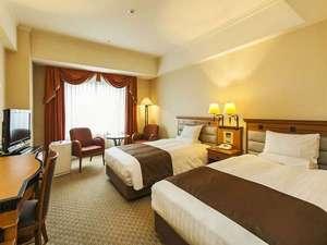 ホテルメトロポリタン盛岡 ニューウイング:【ツインルーム】30平米≪120cm幅セミダブル・シモンズベッド≫