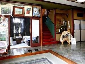 旅館おくむら:玄関からの写真です
