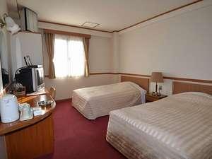 厚狭ステーションホテル:幼児添い寝無料で、ファミリー利用にも嬉しいツインルーム※一例