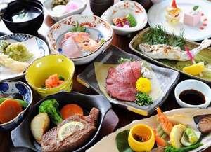 旅館 奥の湯:【料理イメージ】女将手作りの味が随所に隠れる。ホッとする味。田舎風会席料理(※料金で内容異なる)