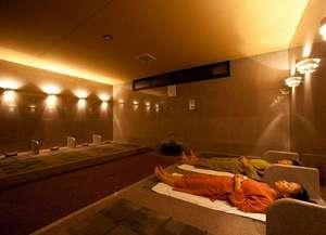 旅館 奥の湯:【岩盤浴】終了後もベタつかずサラサラの汗。新館1F 15:00~23:00 一人¥1,080(税込)