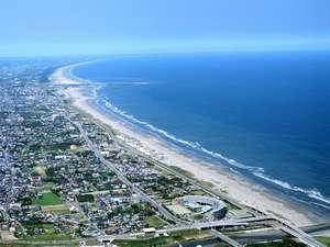 オーシャンビューリゾート サンライズ九十九里:どこまでも続く美しい砂浜と雄大な太平洋をひとり占め♪