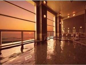オーシャンビューリゾート サンライズ九十九里:太平洋から昇る日の出は感動的