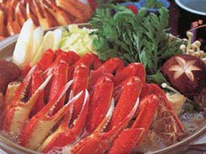 岡口屋:【カニすき】使用する蟹は、身入りの良いものを厳選しております