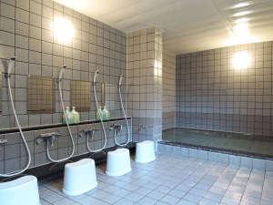 岡口屋:*【大浴場(女湯)】トロン原石と呼ばれる薬石を使った準天然トロン温泉です
