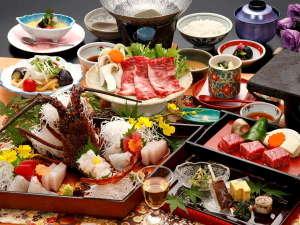 湯の山温泉 彩向陽(いろどりこうよう):【彩華の膳】当館人気№1の会席料理☆
