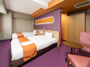 ホテルウィングインターナショナル名古屋:【2016年10月改装】3・4・5階デラックスツイン