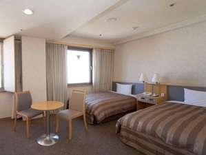 アークホテル広島駅南―ルートインホテルズ―:ゆったりツインルーム(18~22平米)★2012年リニューアル済み