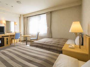 アークホテル広島駅南―ルートインホテルズ―:◇ツインルーム一例◇18~22平米(客室により異なります)