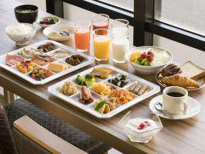 アークホテル広島駅南―ルートインホテルズ―:地産地消を取り入れた和洋バイキング朝食(朝6:30~9:30)