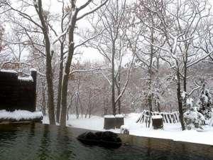 ザ ガンジー ホテル&リゾート:雪の日には雪見露天も♪