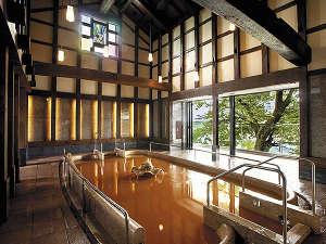 長良川温泉 十八楼:【蔵の湯】明治時代の蔵を再生した、趣きある大浴場