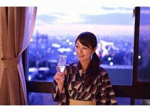 石切温泉 ホテルセイリュウ:夜景